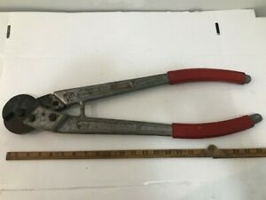 """Vintage Felco C16 Electrical Wire Steel Cable Cutter 23""""(Made in Switzerland)"""