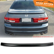 03-05 Honda Accord 4Dr Flush Mount OE Factory ABS Trunk Spoiler Lip Primer