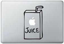 Apple Juice MacBook Pro / Air 17 Inch Vinyl Decal Sticker