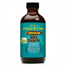 [JAMAICAN MANGO&LIME] PURE ORGANIC BLACK CASTOR OIL TREATMENT AMLA 4OZ