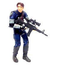 """Resident EVIL 6 """"leon kennedy (blessé) Horreur figure Jeu Vidéo XBOX PS3 WII"""