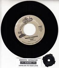 "SADE  Smooth Operator & Hang On To Your Love 7"" 45 record NEW + juke box strip"