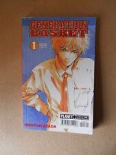 GENERATION BASKET #1 - Hiroyuki Asada Planet Manga [G929]