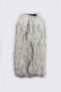 Women Faux Fur Leg Warmers Fluffy Shaggy stylish Trendy