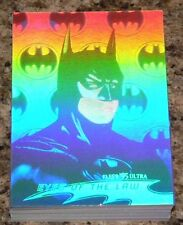 Batman Forever Fleer Ultra 1995 36 card Complete Hologram set