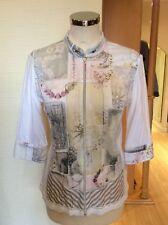 Just White Jacket Size 10 BNWT Winter White Green Pink Lemon RRP £137 NOW £62