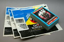 1989 Topps Trading Cards ~ Lot Of 49 ~ GHOSTBUSTERS II Movie Wax Paper Wrappers