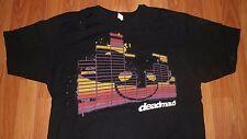 Large size DEADMAU5 concert video wall T-shirt deadmaus