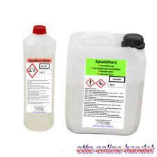 3 kg Laminierharz Epoxyharz KLAR Epoxy für Terrarium - Harz Top-Qualität