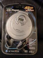 2001 Audiovox DM8701-45 45 Sec Skip Portable CD Player  NIB