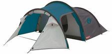 Coleman Cortes 3 Mann Tunnelzelt blau Wochenende Zelt schnell Pitch 3 Person
