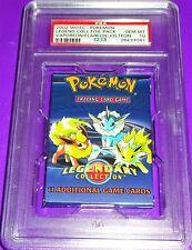 Pokemon Vaporeon Flareon Jolteon Legendary Collection Foil  Pack Psa 10