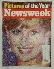 PRINCESS DIANA Magazine - NEWSWEEK December 22, 1997 PICTURES OF THE YEAR-
