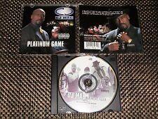 Platinum Game [PA] by C.J. Mac (CD) MACK 10,WC,LOW PROFILE,FAT JOE