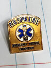 New York State EMT Collar Lapel Pin Emergency Medical Technician NY Insignia