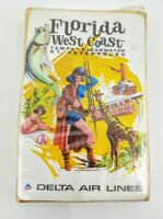 Delta Airlines Florida West Coast Vintage Playing Cards (New)