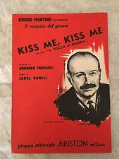 SPARTITO MUSICALE KISS ME, KISS ME FILM IL COCCO DI MAMMA A. TROVAJOLI 1959