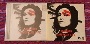 Madonna ~ American Life ( Malaysia Press ) Cd