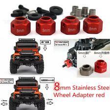 Car Widen Adapter Widening 8mm 4pc for 1/10 TRAXXAS TRX-4 TRX4 RC Trucks Wheels