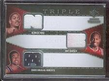 2008/09 UD SP ROOKIE THREADS DERRICK ROSE, JOEY DORSEY, CHRIS DOUGLAS/ROBERTS