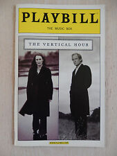 November 2006 - Music Box Theatre Playbill - The Vertical Hour - Julianne Moore