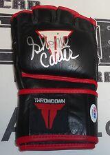 Shonie Carter Signed ThrowDown MMA Fight Glove PSA/DNA COA UFC Pancrase WEC Auto