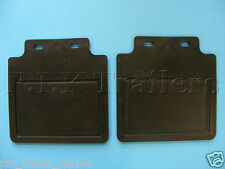 """FREE P&P* Rain Mud Flaps to fit  8"""" or 10"""" Wheels on Trailer Mudguards    #2659"""