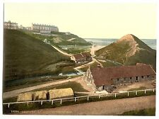 3 Large A3 Victorian Views of Saltburn by the Sea Cat Nab Pier Photos Poster NEW