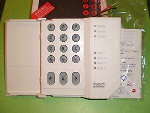 DSC PC500RK PC500 4 Zone Alarm Keypad Classic for PC510, PC550 PC560 NEW!