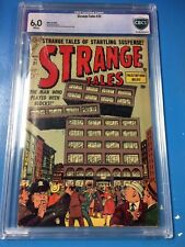 Strange Tales #31 1954 CBCS 6.0 White Pages Atlas Horror Scarce