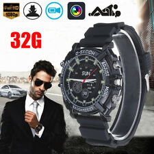 Waterproof 32GB Night Vision HD 1080P Spy Hidden Watch Video Recorder Camera NEW