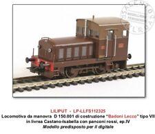 LILIPUT L112325 locomotiva diesel da manovra FS 150.001 BADONI Lecco 1/87