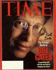 REPRINT - BILL GATES Microsoft Founder Autographed Signed 8 x 10 Photo Poster RP