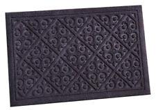 """S&S Mats Doormat Entrance Rug Indoor/Outdoor 18"""" x 30"""" Brown Design Door Mat"""