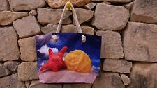 XXL Tasche  große Strandtasche Sporttasche Badetasche Shopper Muschel Seestern