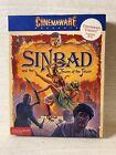 "Rare!! Commodore 64 ""sinbad"" Floppy Computer Game /mindscape Cinemaware"