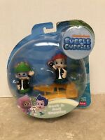 Bubble Guppies NONNY & GIL Rock & Roll Guppies New in damaged package!