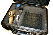 Armourcase Waterproof 1450 case + precut Quickdraw 1 pistol handgun Range foam