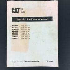 CAT Caterpillar Lift Trucks Operations & Maintenance Manual 99720-8C100 Forklift