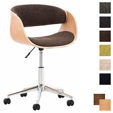 Fauteuil de Bureau PORTMORE Tissu Chaise de Bureau Ergonomique Confortable