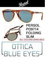 Occhiali da Sole Persol 9714 714 Sonnenbrillen Gafas Sunglasses McQueen folding