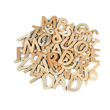 Creation Station Wooden Capital Letters Pack of 60 CS3746