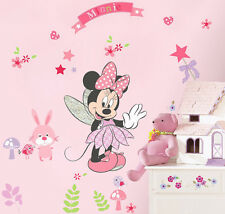 DIY Minnie Mouse Removable Wall Sticker Decals Mural Art Kids Girls Room Decor