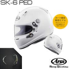 Arai GP series SK-6 PED HELMET RacingKart SNELL K size M 57-58cm  White EMS F/S