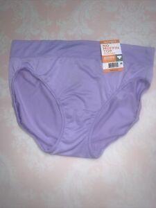 NWT Warner's No Muffin Top Microfiber Hi-Cut Panty size L/7