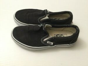 Vans Black Slip On Shoes Unisex Shoes