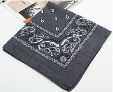 Wholesale Lot Bluk 100% Cotton Paisley Print Bandanas Head Wrap Scarf Wristband