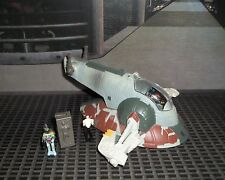 STAR WARS ACTION FLEET SERIES I BOUNTY HUNTER BOBA FETT'S SLAVE 1 COMPLETE