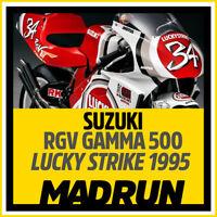 Kit Adesivi Suzuki Lucky Strike RGV 500 - Kevin Schwantz - High Quality Decals
