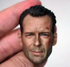 "1/6 Scale Bruce Willis head sculpt Die Hard 12"" HT Male Action"